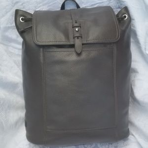 Authentic Cole Haan Leather Backpack